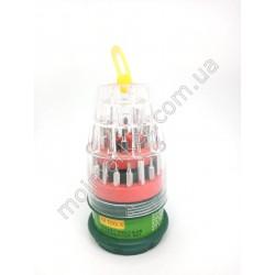 HI801 Набор мобильный банка 6036G, отвертка и 30 насадок (120шт в ящ)