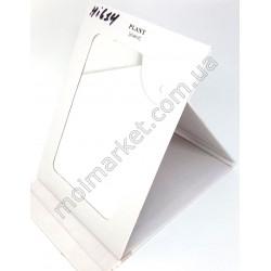HI614Зеркало-книжка одностороннее, 18х13см, в картонной обложке (240шт в ящ)