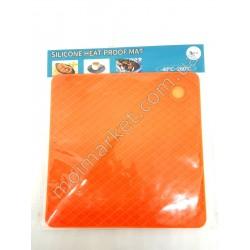 HI1054 Подставка -коврик на стол под посуду, силиконов.,квадр/кругл., 18х18см (360шт в ящ)