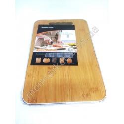 HI30 Доска кухонная с окантовкой для нарезки продуктов, 30х20 см (40шт в ящ)