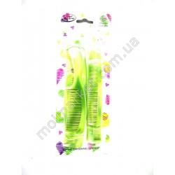 HI180 Расческа - гребень, набор парикмахерский 6-ти шт. (432шт в ящ)