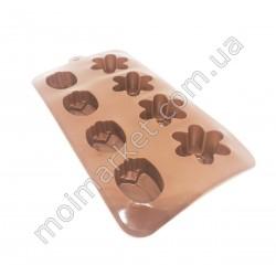 HI1107 Форма для конфет силикон. 8-ми шт (300 шт в ящ)