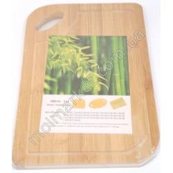 HI1134 Доска деревянная для нарезки продуктов , 29х20 см (300шт в ящ)