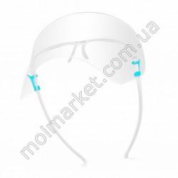 HI1141 Экран-очки для лица защитн., акриловый(1000шт в ящ)