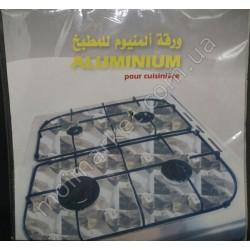 HI61 Фольга на газовую плиту, 50х60 см (500шт в ящ)
