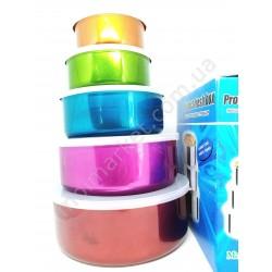 HI19 Судочки для хранения продуктов, набор 5 шт. (64шт в ящ)