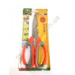 HI10 Ножницы кухонные оранжевые К024, 22см (240шт в ящ)
