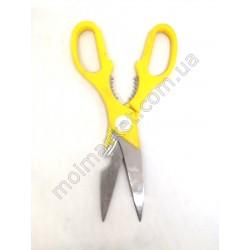 HI937 Ножницы кухонные желтые 20см (240шт в ящ)