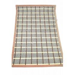 HI35 Коврик на стол, салфетка, бамбук обшита тканью(300шт в ящ)