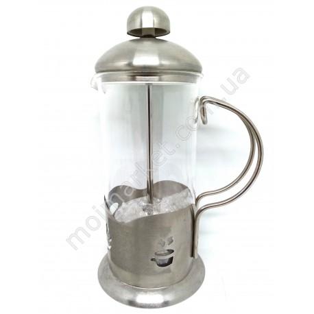 HI823 Заварочный чайник с пресс-фильтром, 600л (40шт в ящ)