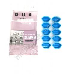 HI738 Форма для льда, конфет, силикон, 10-ти шт., форма Губы (200шт в ящ)