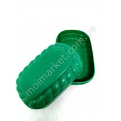 HI401Мыльница для туалетного мыла, пластик (200 шт в ящ)