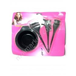 HI131 Набор парикмахерский для покраски для волос, 4 предмета (120шт в ящ)