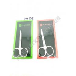 HI789 Ножницы маникюрные №551 Polilike, 9 см (600шт в ящ)