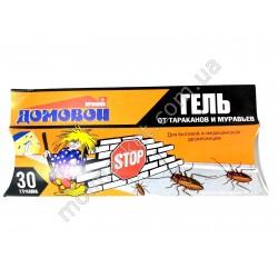 HI518 Шприц- гель от тараканов Домовой Прошка, 30г (100шт в ящ)