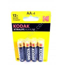 HI673 Батарейки Kodak R6, XTRALIFE ALKALINE, 4 шт. (240шт в ящ)