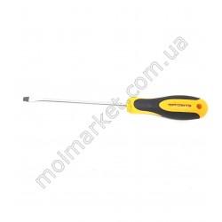 HI239 Отвертка односторонняя, 26 см, черно-желт ручка (360 шт в ящ)